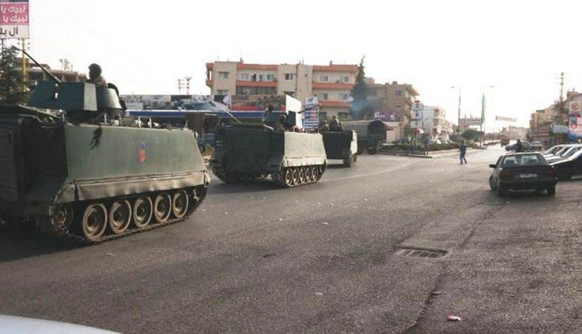 الجيش: توقيف مطلوبين في مقنة وإصابة أحدهما