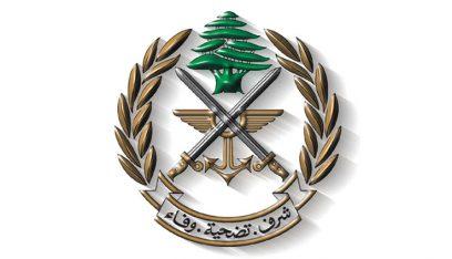 الجيش يسلم هبة للدفاع المدني في يحشوش