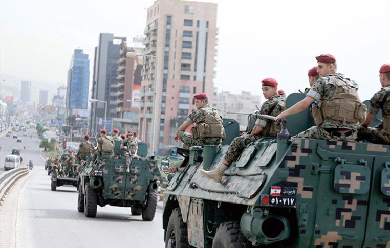 الجيش: توقيف 57 مطلوباً في مناطق مختلفة