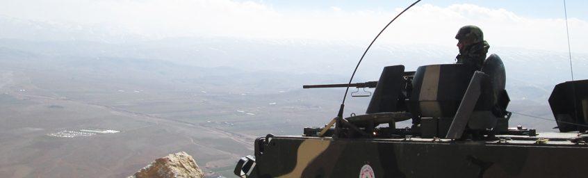 الجيش اللبناني: تمارين تدريبية وتفجير ذخائر