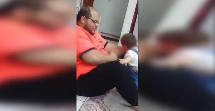 """بعد الفيديو الصادم.. شرطة الرياض تعتقل """"معذب الرضيعة"""""""