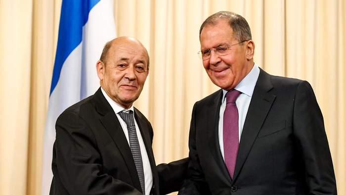 لافروف ولودريان: متفقان على ضرورة الحفاظ على الاتفاق النووي