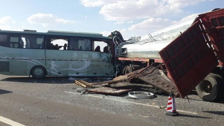 مقتل 36 شخصا بحادث سير في الصين