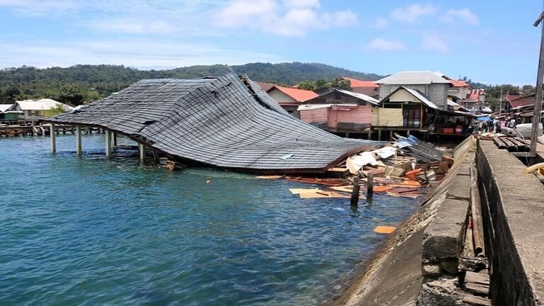 ارتفاع حصيلة ضحايا زلزال إندونيسيا إلى 30 قتيلاً
