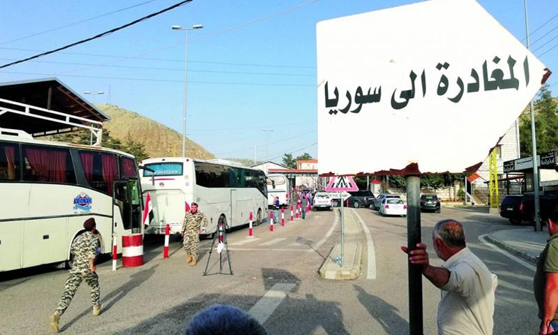 الامن العام: بامكان السوريين المغادرة بعد تسوية اوضاعهم خلال شهر