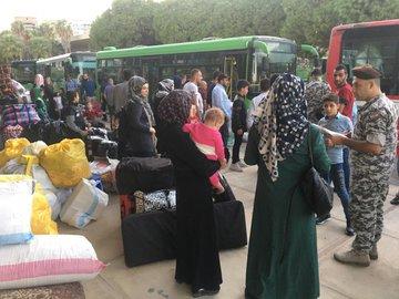 تأمين العودة الطوعية لـ 926 نازحاً سورياً من مناطق مختلفة