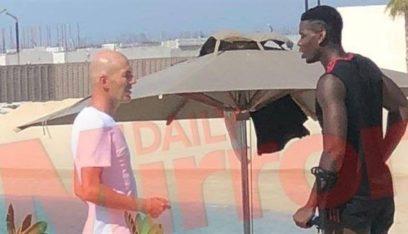 زيدان يكشف سبب لقائه مع بوغبا في دبي