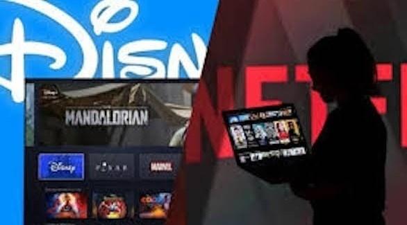 ديزني تحظر إعلانات نتفليكس