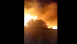إندلاع حريق كبير بالقرب من جامعة البلمد في عكار والأهالي يناشدون فرق الإطفاء