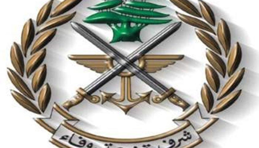 قيادة الجيش تؤكد أنها غير معنيّة بأيّ خبر لا يصدر عنها