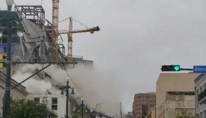 بالفيديو: انهيار فندق يتسبب بسقوط عشرات الضحايا