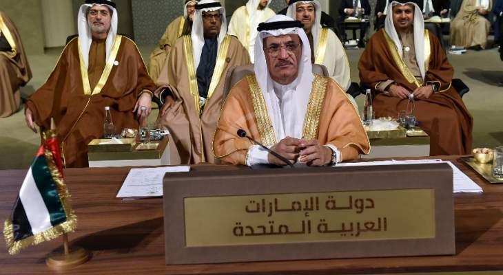 وزير الإقتصاد الإماراتي: لبنان لديه القدرة ليصبح قوى اقتصادية صاعدة في المنطقة