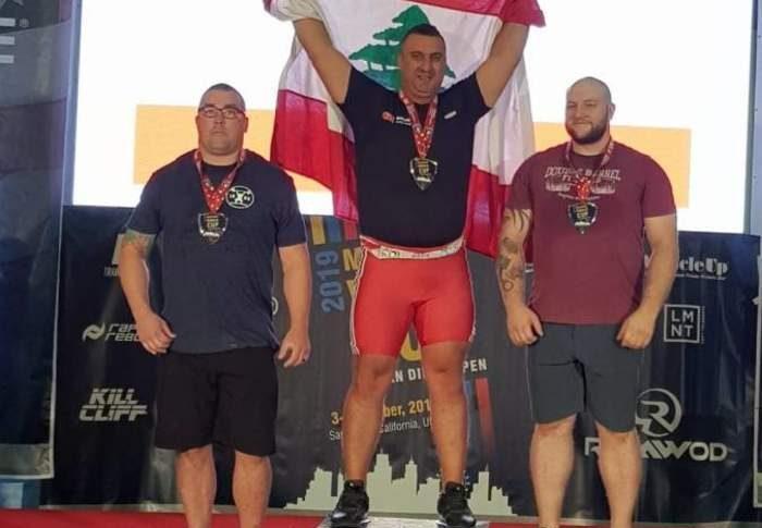 3 ميداليات ذهبية للبنان في بطولة العالم لرفع الأثقال