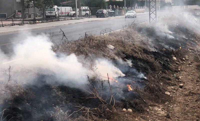اندلاع حريق في صور