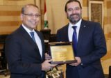 الحريري أولم على شرف النجاري: شكرا للعمل على تطوير العلاقات اللبنانية المصرية