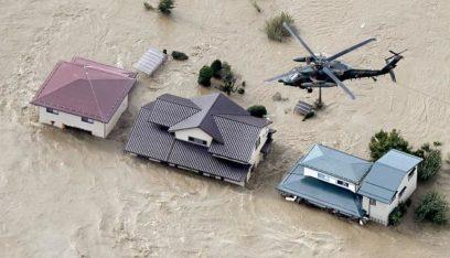 ارتفاع ضحايا إعصار هاغيبيس باليابان إلى 35 قتيلا وأكثر من 100 جريح