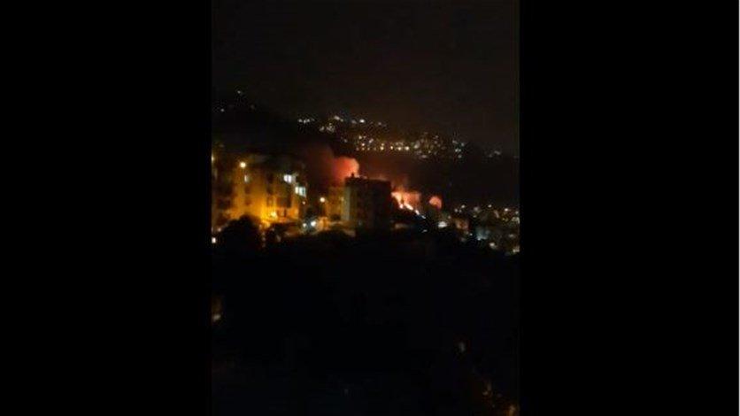 اندلاع حريق في منطقة حرجية في غزير- كفرحباب ومحاولات لاهماده