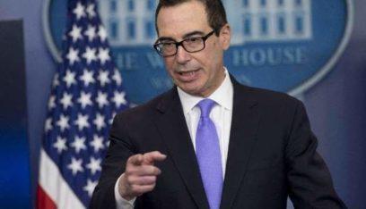 وزير الخزانة الأميركي: الولايات المتحدة لن تفرض حاليا عقوبات على تركيا