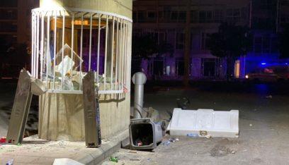 ارتفاع عدد الجرحى في صفوف قوى الامن الداخلي الى 52 اصابة وتوقيف 70 شخصاً