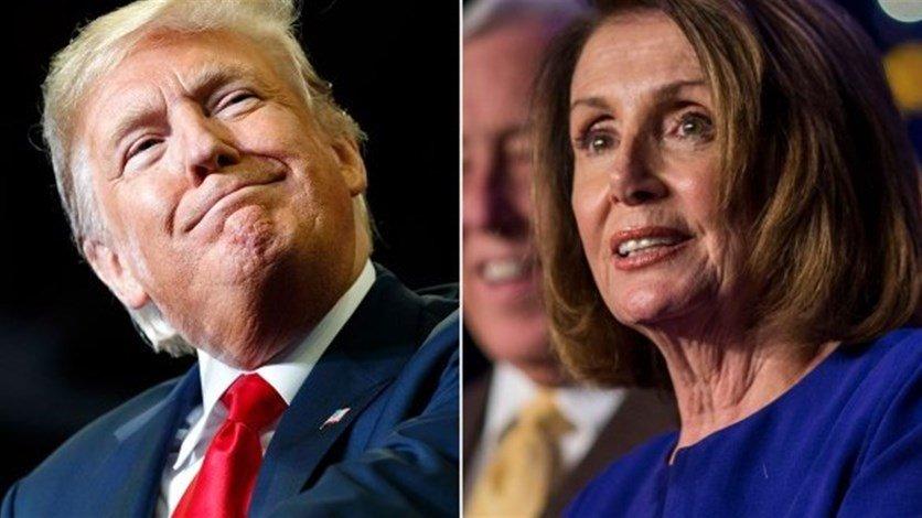 سجال حاد بين ترامب وبيلوسي