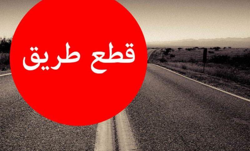 قطع طرقات ليلاً في مناطق لبنانية عدة