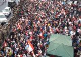 بالفيديو: اشكال كبير بين المتظاهرين في جل الديب ليل امس