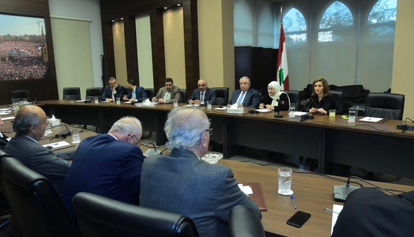 كتلة المستقبل أبدت قلقها لاصطفافات قد تستجر لبنان الى حلبة الانقسامات الاهلية