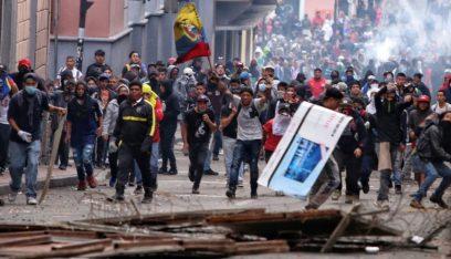 رئيس الإكوادور يعلن حظر التجول في العاصمة كيتو
