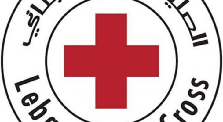 أربعة فرق من الصليب الأحمر تعمل على إسعاف المصابين في رياض الصلح