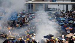 اندلاع احتجاجات في هونغ كونغ