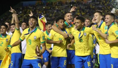 هدفان متأخران يقودان البرازيل للفوز بكأس العالم تحت 17 عاما