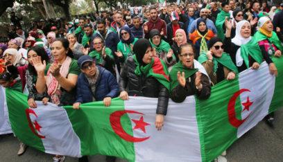 الجزائر.. استمرار الاحتجاجات في أول جمعة بعد وفاة قايد صالح