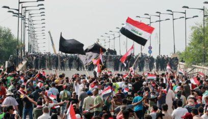 محتجون يغلقون ميناء أم قصر أقصى جنوبي العراق