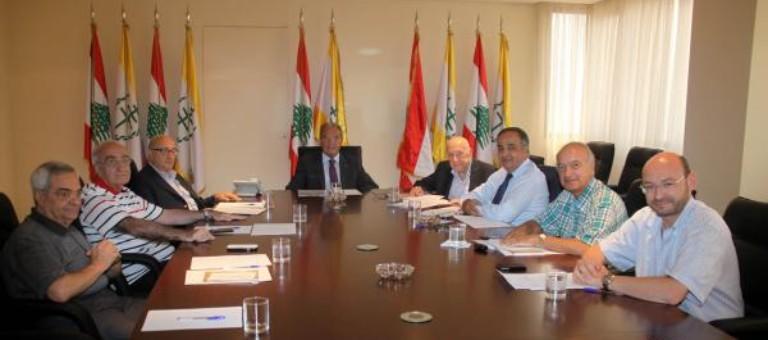 المجلس العام الماروني أعلن تأييده المطلق لطروحات الراعي