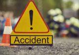 اصابة سائق دراجة نارية بحادث صدم على طريق البص – صور