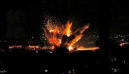 سكاي نيوز: طائرات إسرائيلية مسيّرة تقصف بصاروخين موقعاً لحركة حماس شمالي قطاع غزة