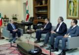الرئيس عون إستقبل سفير مصر في لبنان