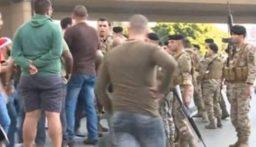 اشكال في الشفروليه والجيش حاول فتح الطريق