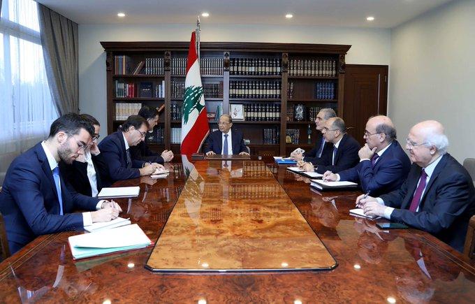 الرئيس عون استقبل فارنو: سأواصل اتصالاتي لاجراء الاستشارات النيابية الملزمة لتسمية رئيس جديد للحكومة