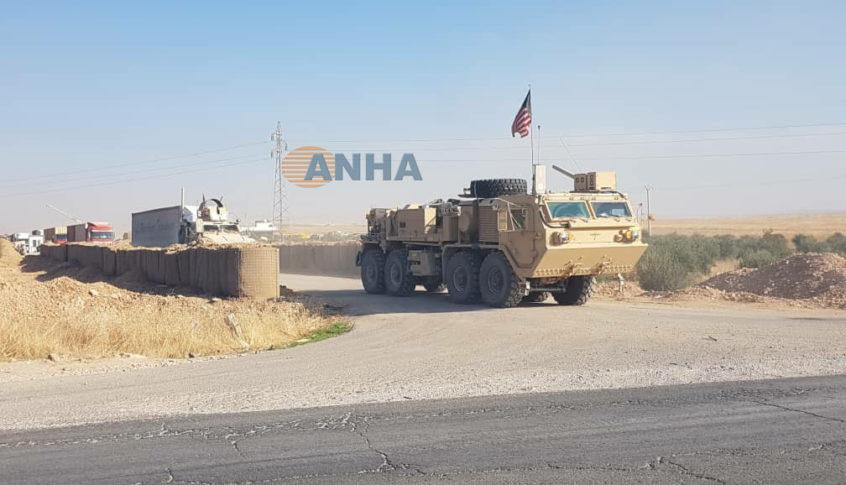 القوات الأميركية تعيد انتشارها شمال شرقي سوريا