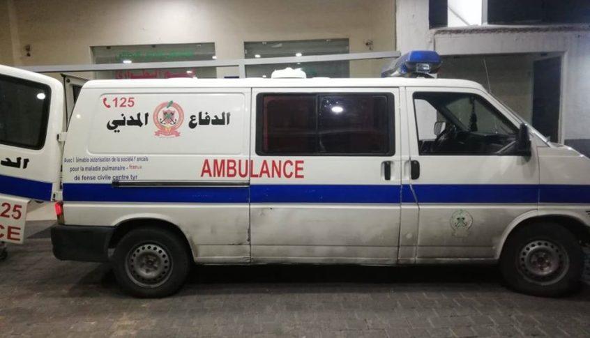 جريح إثر حادث سير في المنارة – بيروت