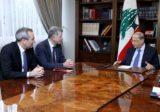 ريتشارد مور أكد من بعبدا التزام بلاده مساعدة لبنان ودعمها تأليف حكومة جديدة