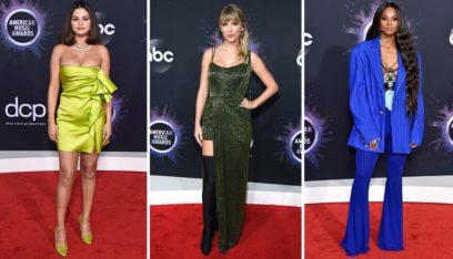 مَن كانت صاحبة أجمل فستان في حفلة AMA؟