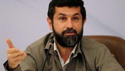 انتشال حطام الطائرة المسيرة التي اسقطها الجيش الايراني