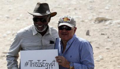 مورغان فريمان يشارك في فيلم مصري