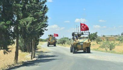 القوات التركية والروسية  المشتركة تنهي الدورية البرية التاسعة شرق الفرات