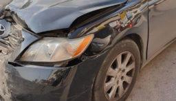 اصابة مواطن باصطدام دراجته بسيارة في النبطية