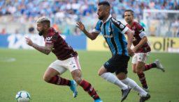 الدوري البرازيلي: فلامنغو بعشرة لاعبين يفوز على غريميو ويعزز صدارته