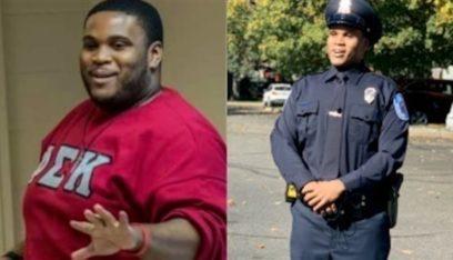 خسر 80 كيلو من وزنه ليصبح شرطياً