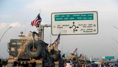 سانا: مغادرة 55 آلية محملة بآليات عسكرية أميركية من سوريا إلى العراق